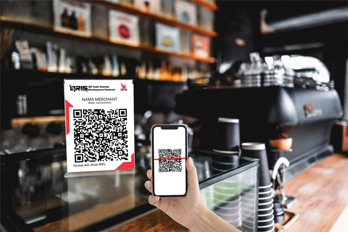 CASHLESS SOCIETY InterActive Pay standar QRIS QR Code dari Bank Indonesia, Satu QR Code untuk Semua Payment, Cara mendapatkan QRIS QR Code, Cara daftar QRIS QR Code dari Bank Indonesia